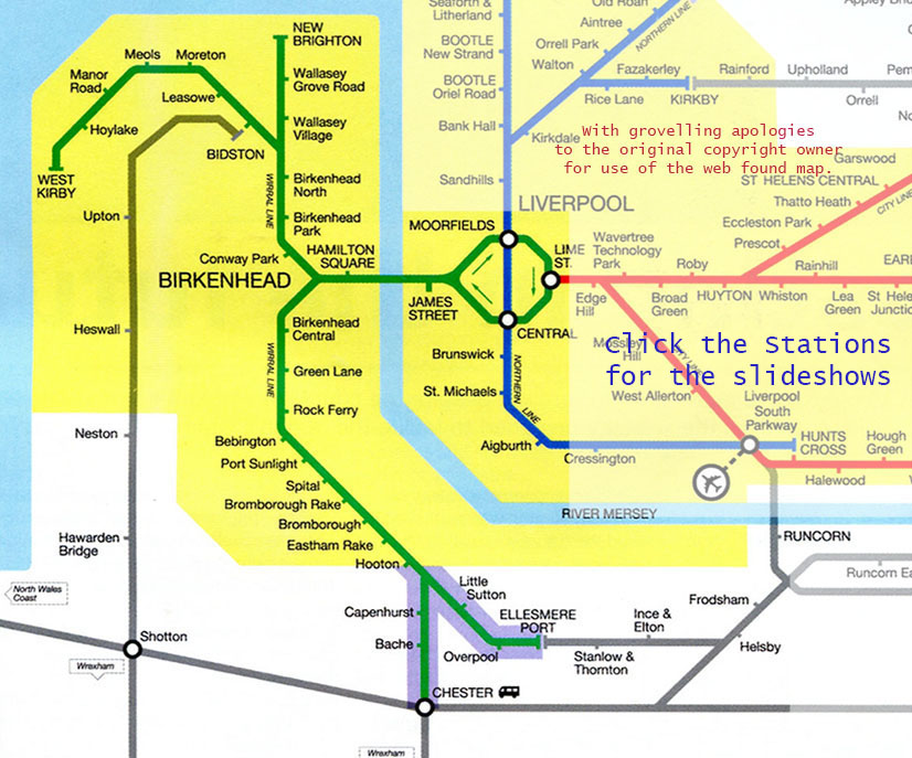 Merseyrail Wirral Lines